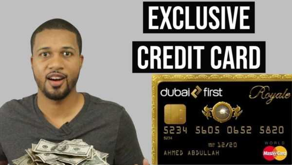 The Worlds Most Prestigious Credit Card – Dubai First Royale